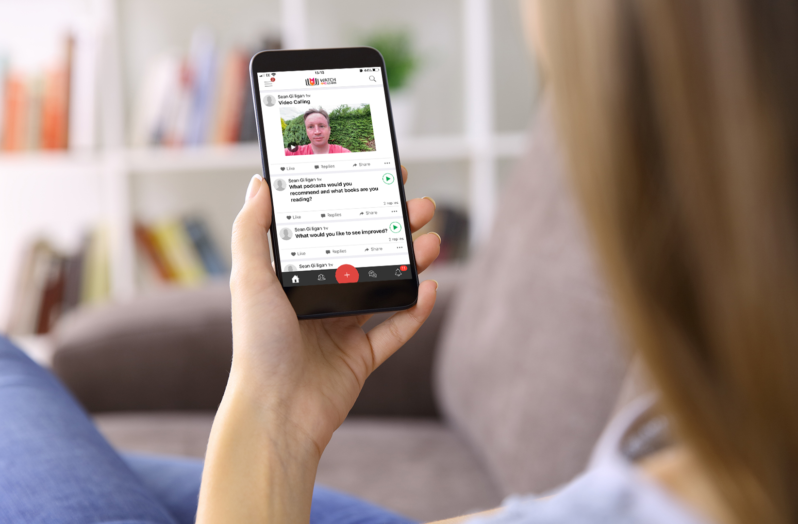 Remote video calling
